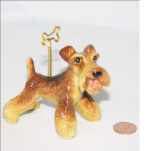 Airedale Terrier Picture Holder