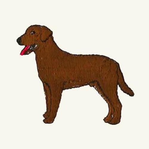 Labrador Retriever Hand Towel Chocolate Austin Canine Central