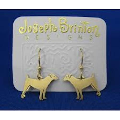 Jack Russell Earrings