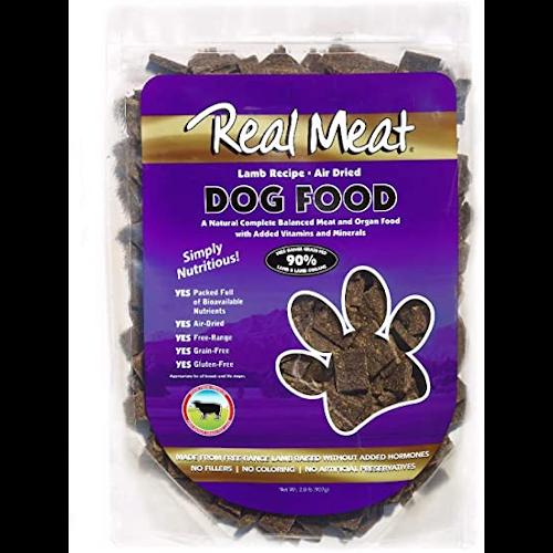 Real Meat, Raw Dried Dog Food - Lamb