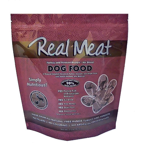 Real Meat Turkey and Venison Food