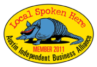Proud member of the Austin Independent Business Alliance since 2011