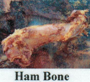 Pet Deli Case of Ham Bones