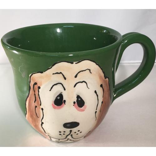 Whimsical Basset Mug