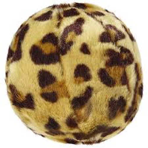Leopard Ball Dog Toy