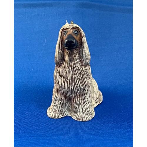 Fawn Afghan Hound Ornament