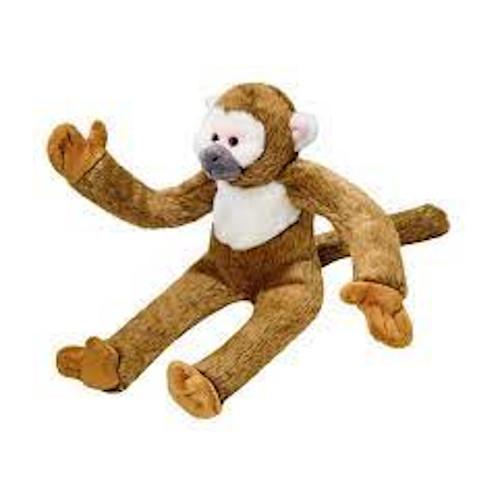 Albert the Squirrel Monkey Dog Toy